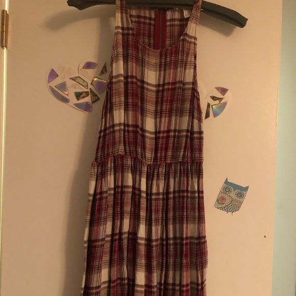 Forever 21 Dresses & Skirts - Forever 21 flannel tank dress